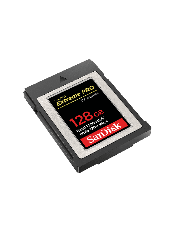 SanDisk CFexpress 128GB Extreme Pro 1700/1200MB/s  typ B