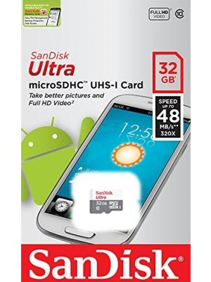 Sandisk SD 32GB 48mb/s micro ultra class 10 android