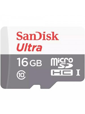 SanDisk SDHC 16GB Micro 80MB/s Ultra Android Class 10 UHS-I sa Adap.
