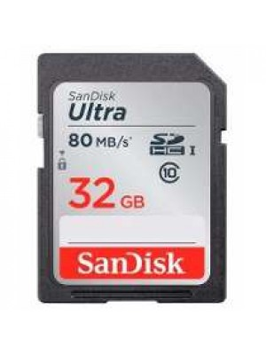 SanDisk SDHC 32GB Ultra 80MB/s Class 10 UHS-I
