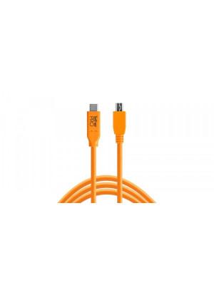 TETHER TOOLS TETHERPRO USB-C TO 2.0 MINI-B 5-PIN CUC2415ORG