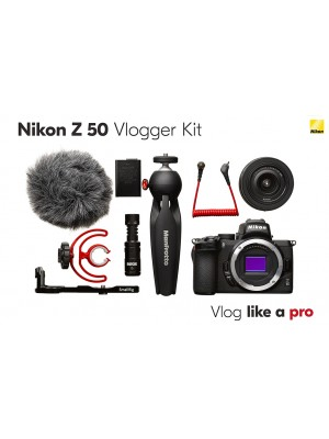 NIKON Dig Z50 Vlogger Kit
