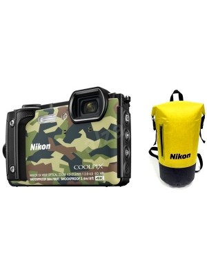 NIKON Dig W300 f.a. Camouflage Holiday set