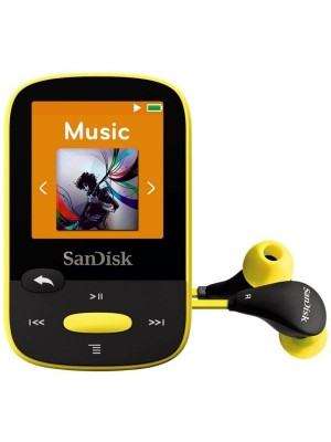 SanDisk MP3 Clip Sport 4GB zuti