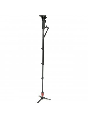 Manfrotto Video Monopod 560B-1 Fluid Monopod W/Head