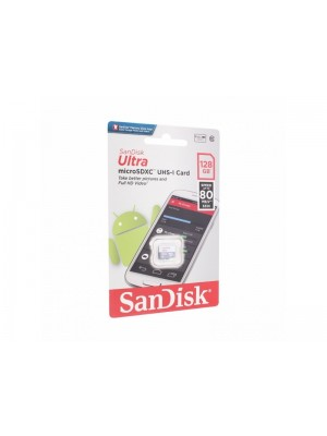 SanDisk SDXC 128GB Ultra Android Mic.80MB/s Class 10