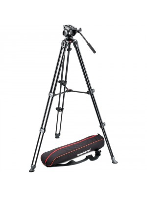 Manfrotto Video SET MVK500AM 500 twin alu leg video system