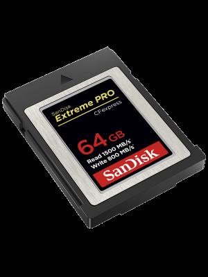 SanDisk CFexpress 64GB Extreme PRO CFEXPRESS CARD Type B