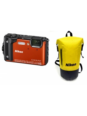 NIKON Dig W300 f.a. Orange Holiday SET