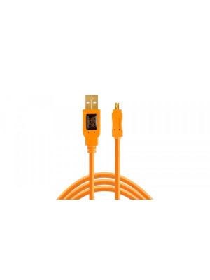 TETHER TOOLS TETHERPRO USB 2.0 TO MINI-B 8-PIN CU8015ORG