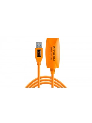 Tether Tools CU3017 Pro USB 3.0 Active Extension Cable 16, ORG