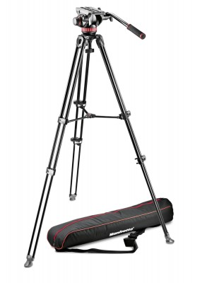 Manfrotto Video Set MVK502AM-1 KIT TELESCOPIC TWIN LEG