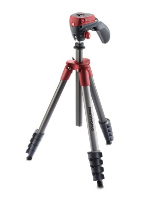 Manfrotto Tripod MKCOMPACTACN-RD COMPACT ACTION RED