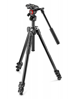 Manfrotto MK290LTA3-V 290 light kit with video head