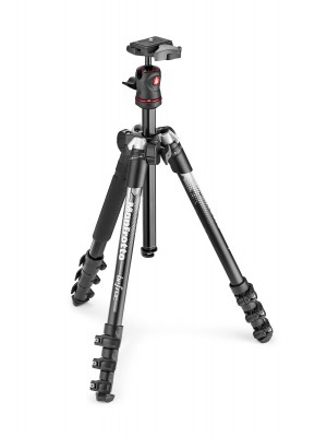 Manfrotto Tripod SET MKBFRA4GY-BH Befree Alu Grey new graphics