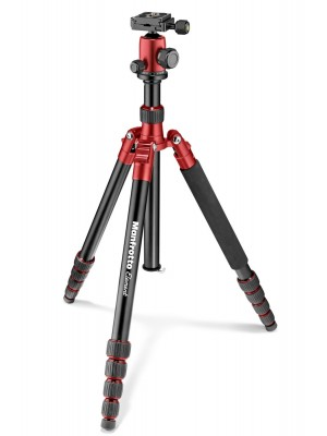 Manfrotto Tripod MKELEB5RD-BH  Element Traveller Big Red