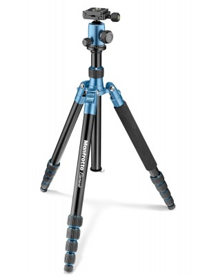 Manfrotto Tripod MKELEB5BL-BH  Element Traveller Big Blue