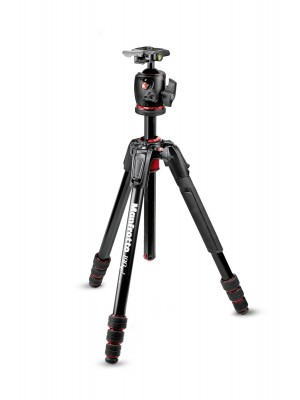 Manfrotto Tripod SET MK190GOA4-BHX 190GO ALU 4 SEC MS KIT BHQ2